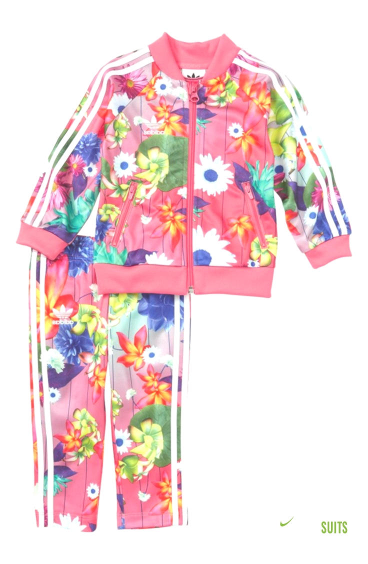 221464f3a4 Infant Girl's Adidas Floral Print Tracksuit | Track Suits